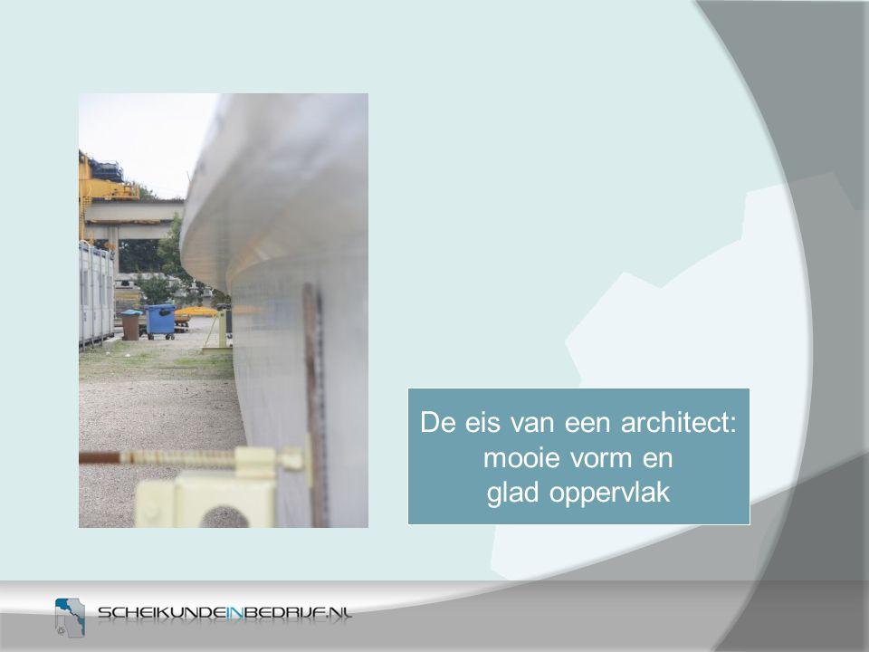 De eis van een architect: