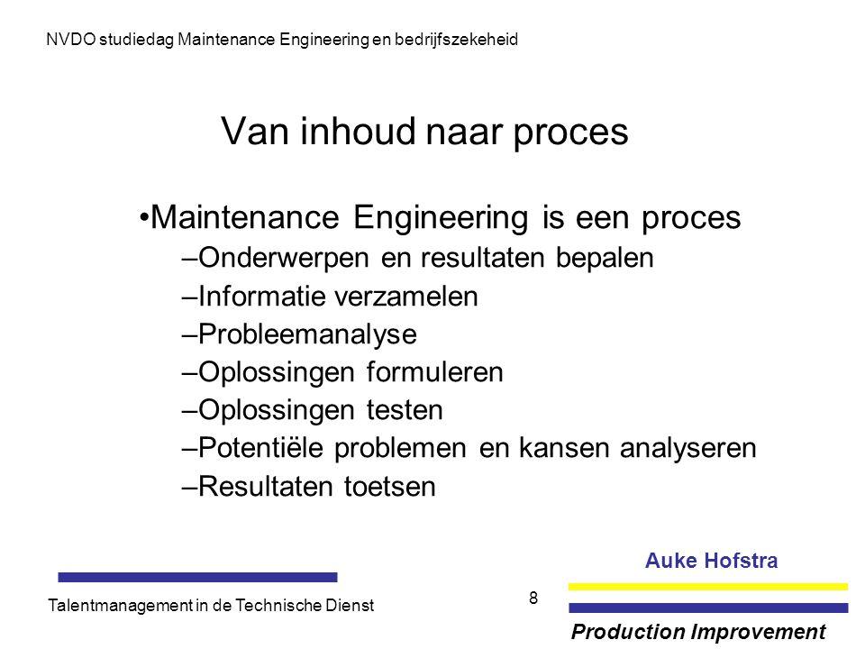 Talentmanagement in de Technische Dienst
