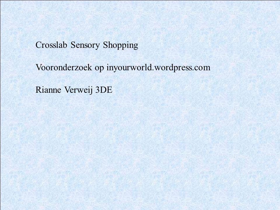 Crosslab Sensory Shopping