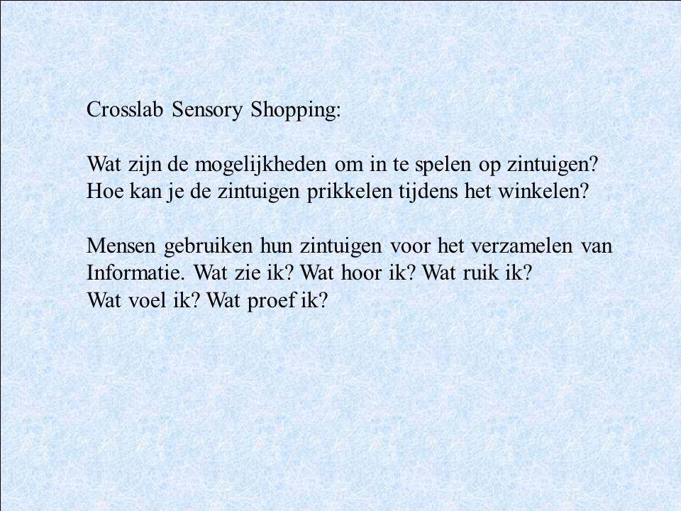 Crosslab Sensory Shopping: