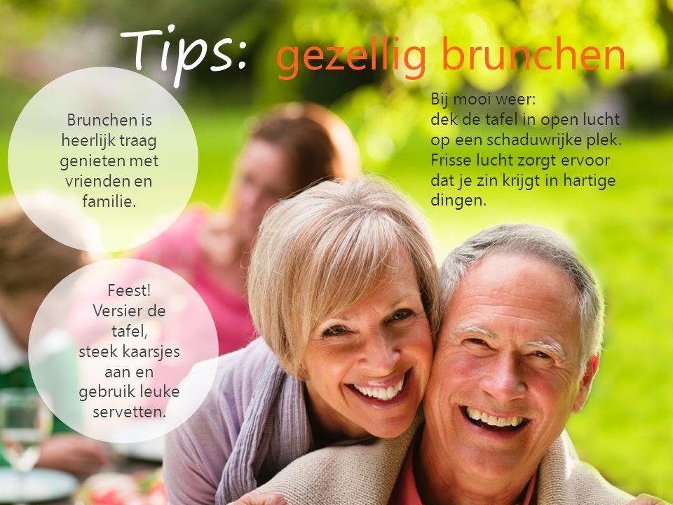 Tips: gezellig brunchen