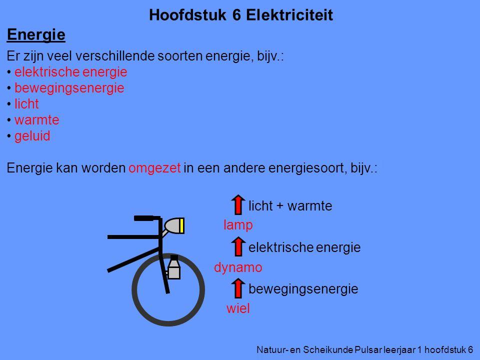 Hoofdstuk 6 Elektriciteit