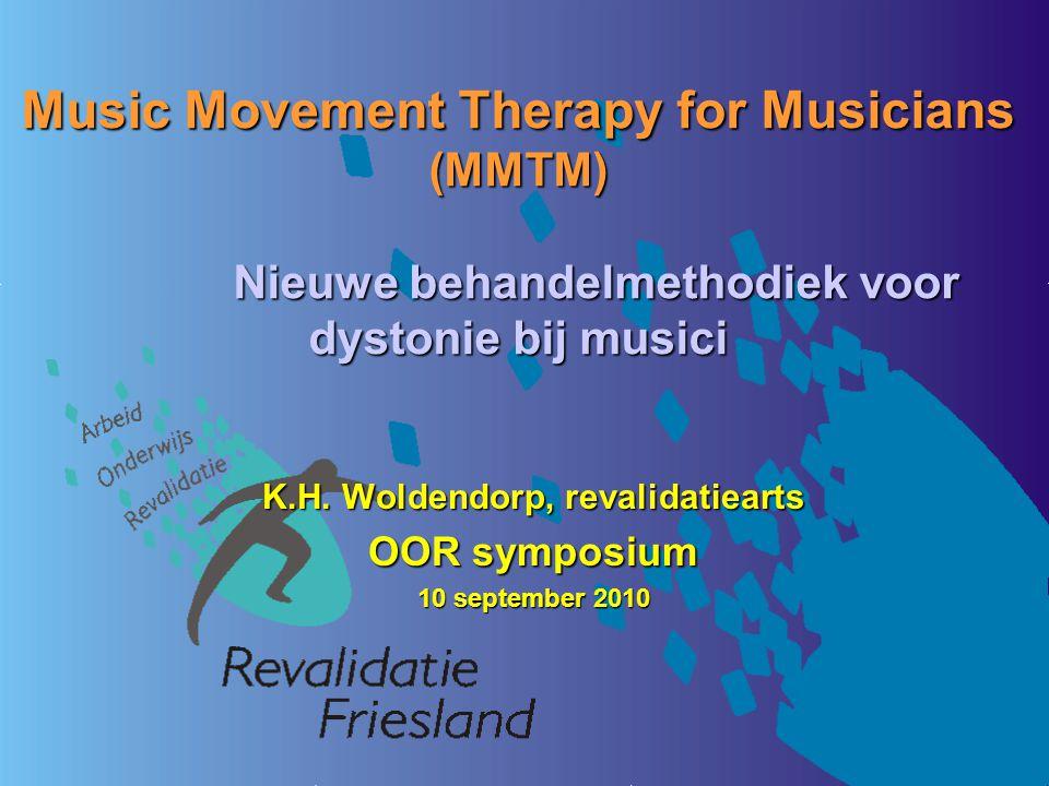 K.H. Woldendorp, revalidatiearts OOR symposium 10 september 2010