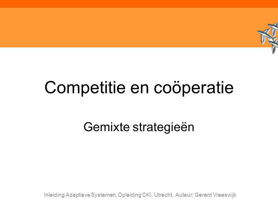 Competitie en coöperatie