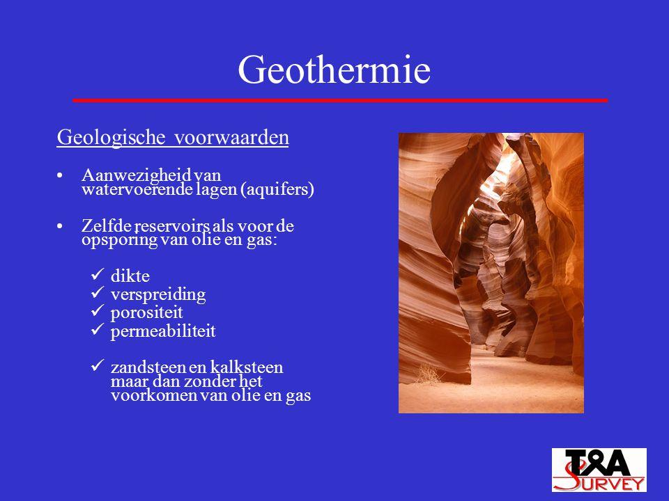 Geothermie Geologische voorwaarden