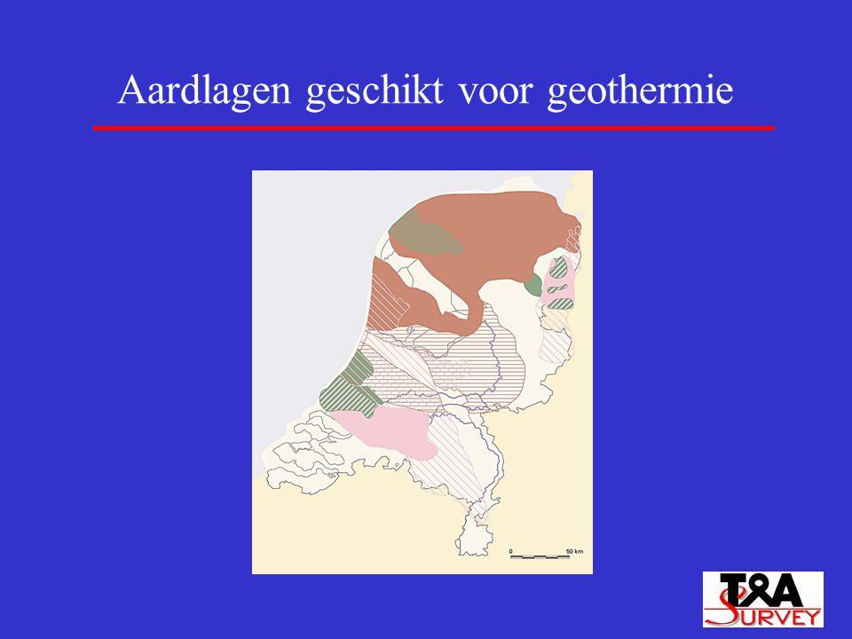 Aardlagen geschikt voor geothermie