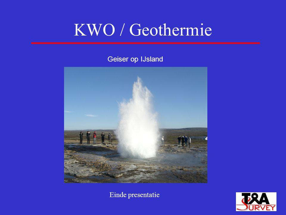 KWO / Geothermie Geiser op IJsland Einde presentatie