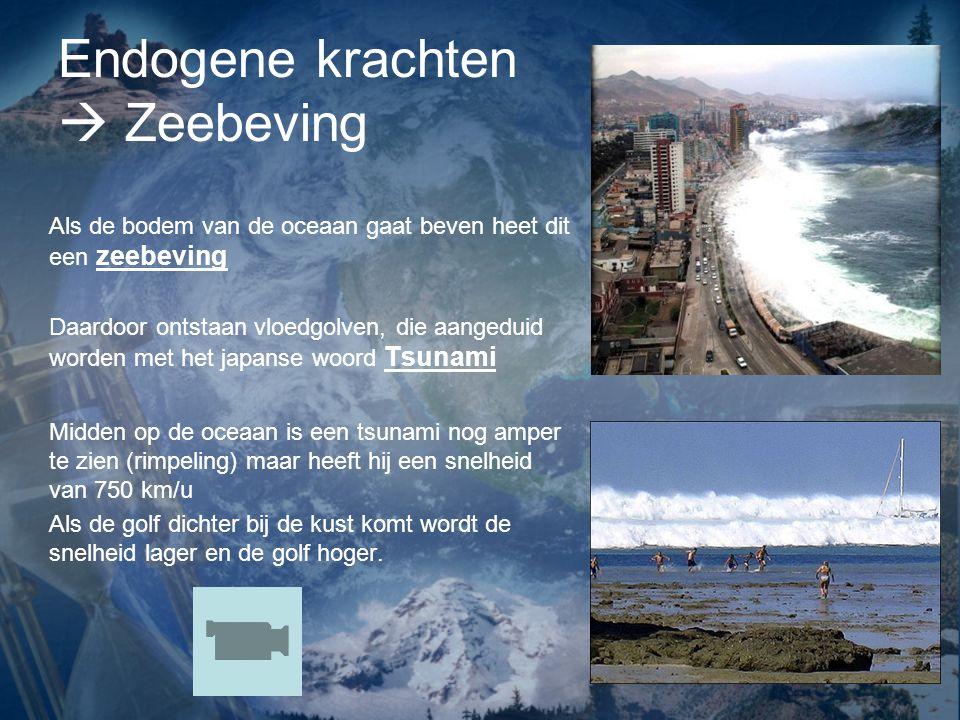 Endogene krachten  Zeebeving