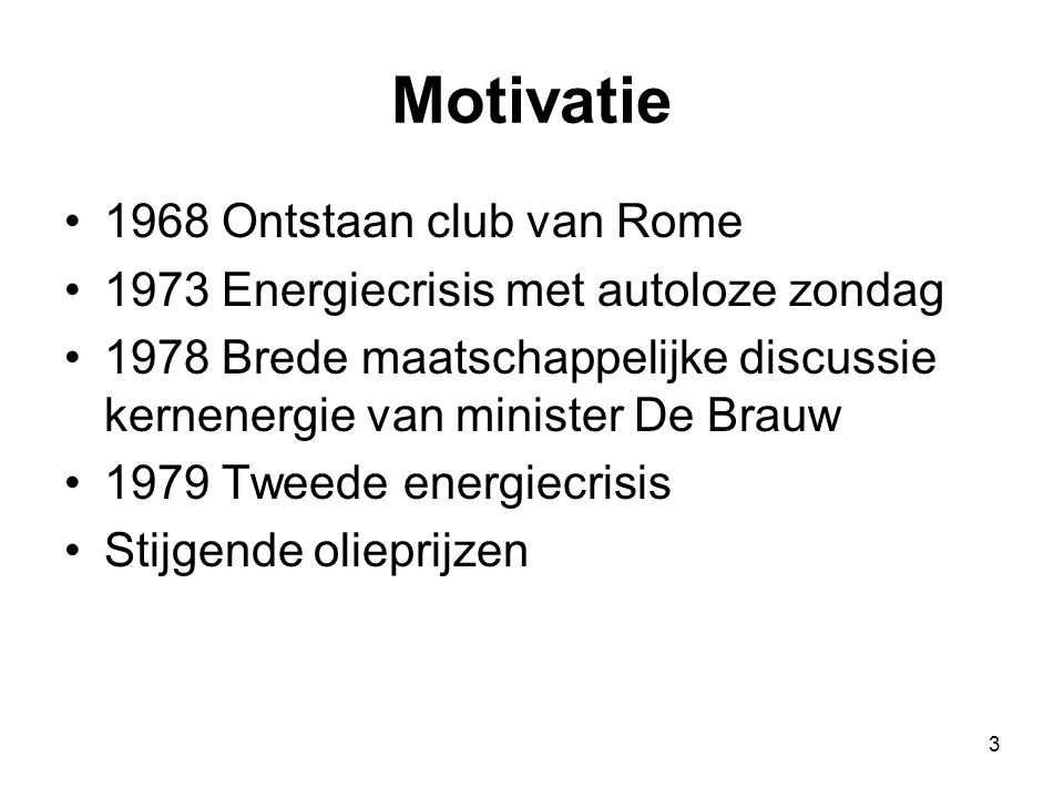 Motivatie 1968 Ontstaan club van Rome