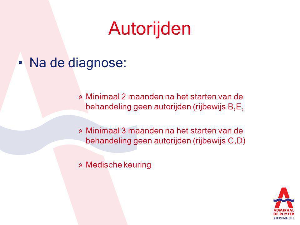 Autorijden Na de diagnose: