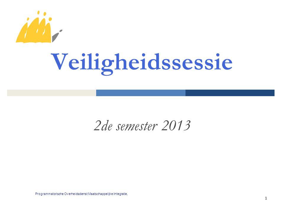 Veiligheidssessie 2de semester 2013