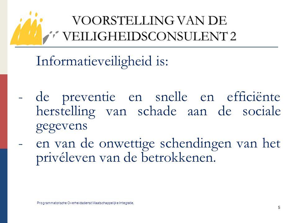 VOORSTELLING VAN DE VEILIGHEIDSCONSULENT 2