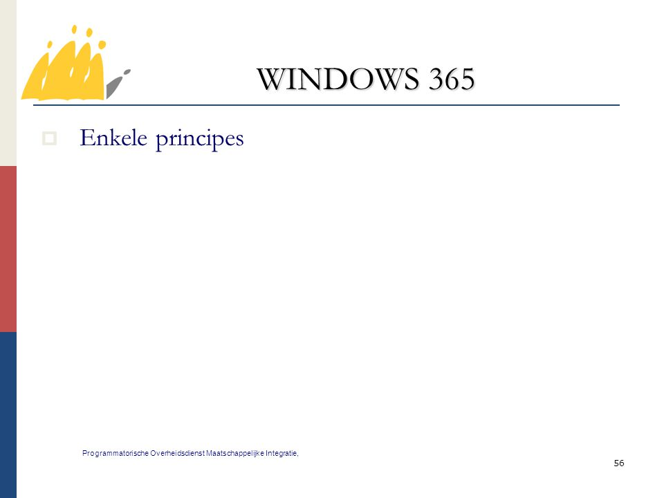 WINDOWS 365 Enkele principes 56