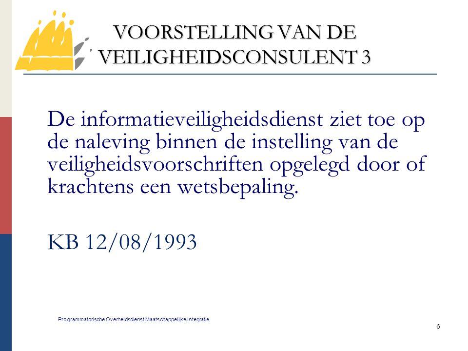 VOORSTELLING VAN DE VEILIGHEIDSCONSULENT 3