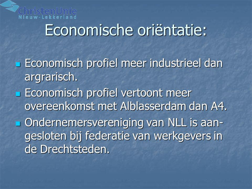 Economische oriëntatie: