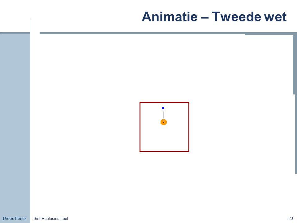 Animatie – Tweede wet Title Sint-Paulusinstituut