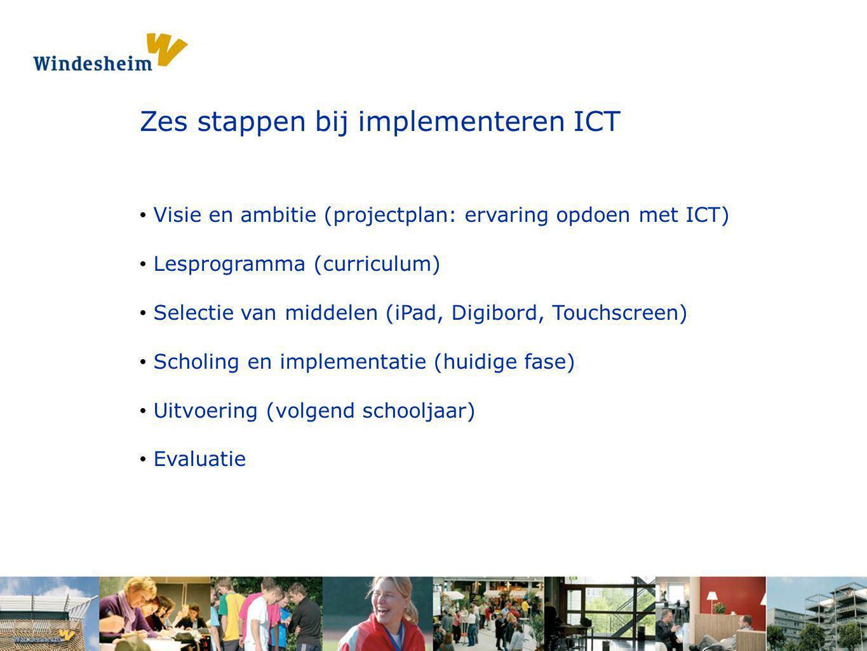 Zes stappen bij implementeren ICT