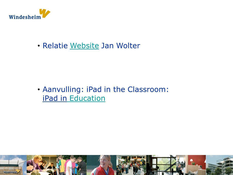 Relatie Website Jan Wolter