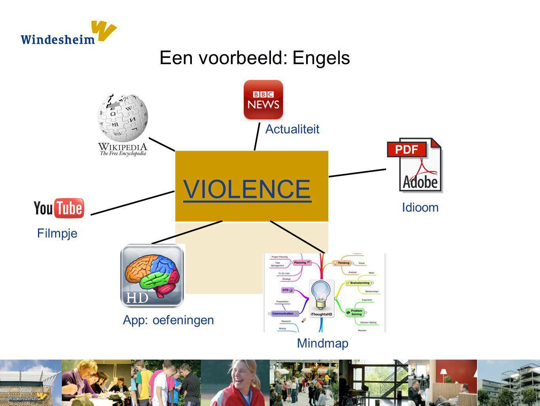 VIOLENCE Een voorbeeld: Engels Actualiteit Idioom Filmpje