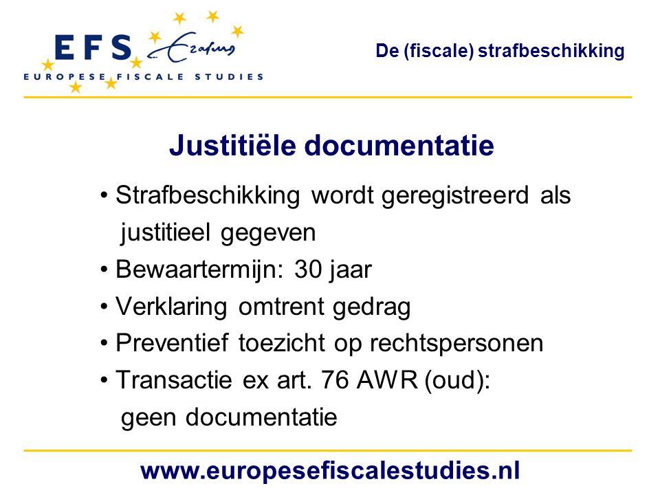 Justitiële documentatie