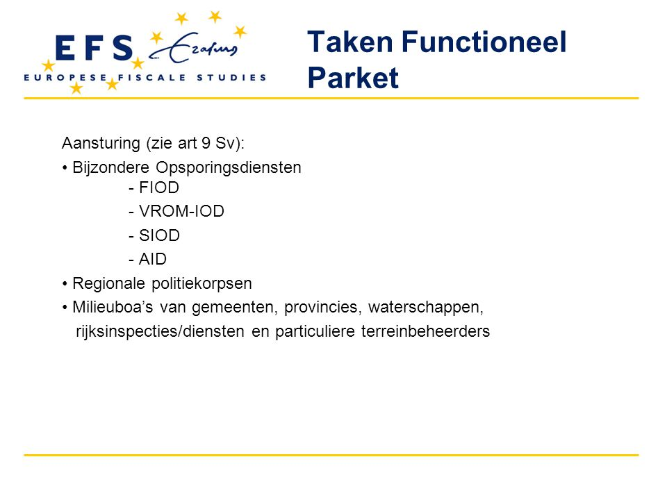 Taken Functioneel Parket