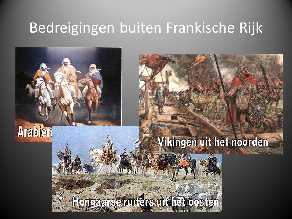 Bedreigingen buiten Frankische Rijk