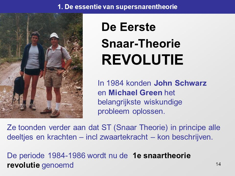 De Eerste Snaar-Theorie REVOLUTIE