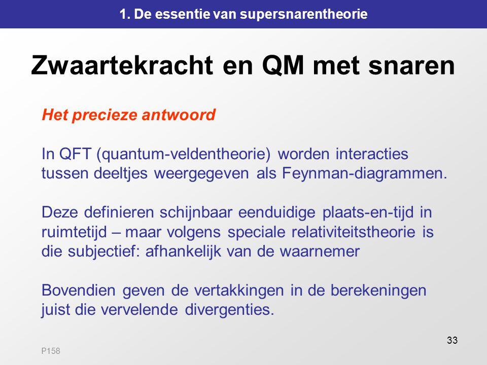 Zwaartekracht en QM met snaren