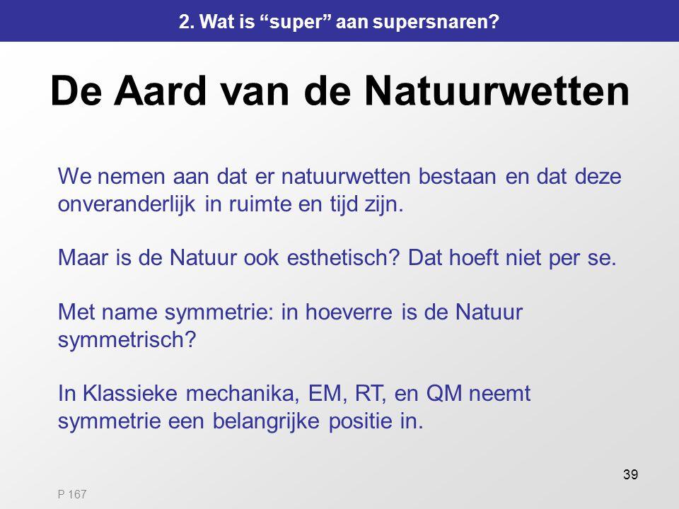 De Aard van de Natuurwetten