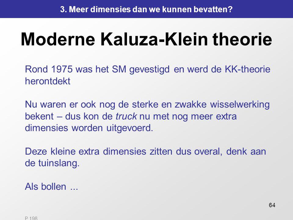 Moderne Kaluza-Klein theorie
