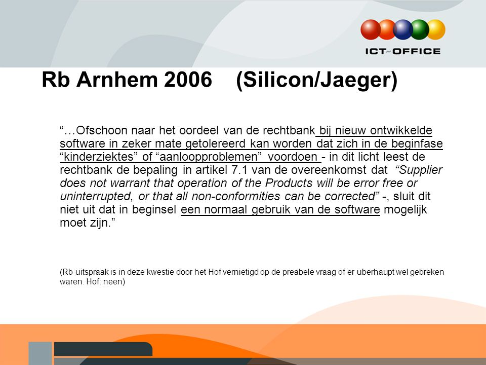 Rb Arnhem 2006 (Silicon/Jaeger)