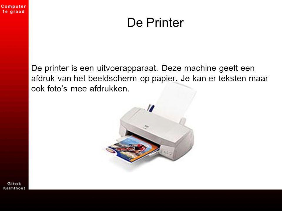 De Printer