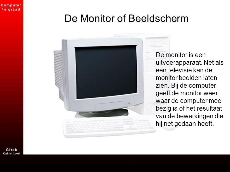 De Monitor of Beeldscherm