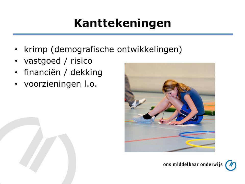 Kanttekeningen krimp (demografische ontwikkelingen) vastgoed / risico