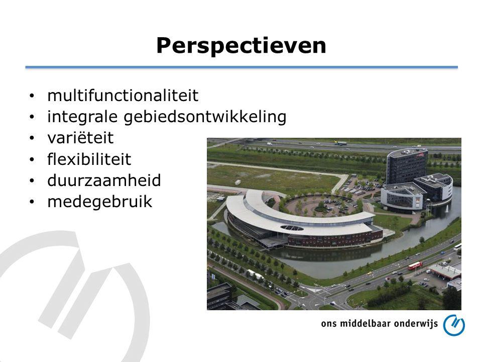 Perspectieven multifunctionaliteit integrale gebiedsontwikkeling