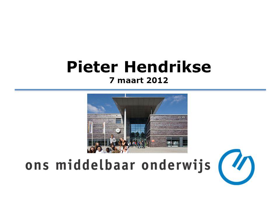 Pieter Hendrikse 7 maart 2012