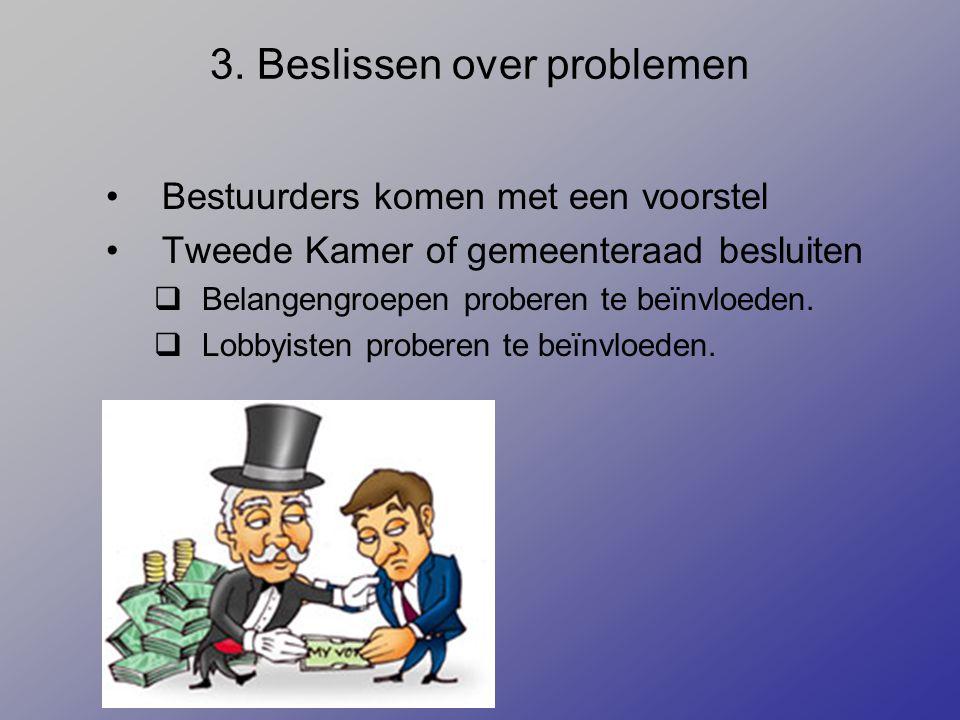3. Beslissen over problemen