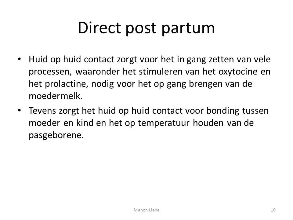Direct post partum