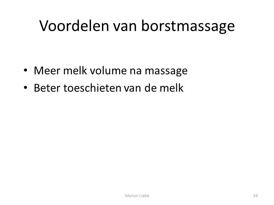 Voordelen van borstmassage