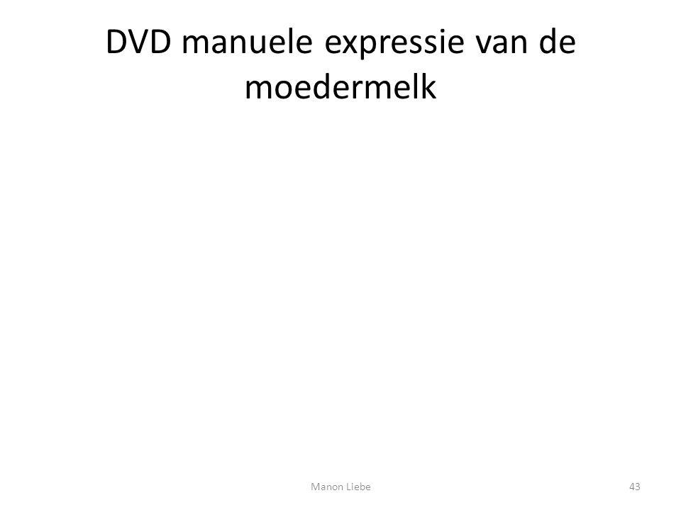 DVD manuele expressie van de moedermelk