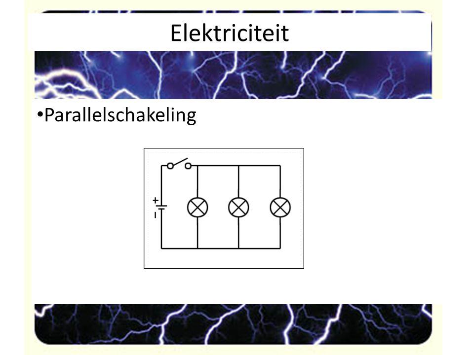 Elektriciteit Parallelschakeling