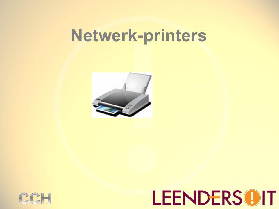 Netwerk-printers