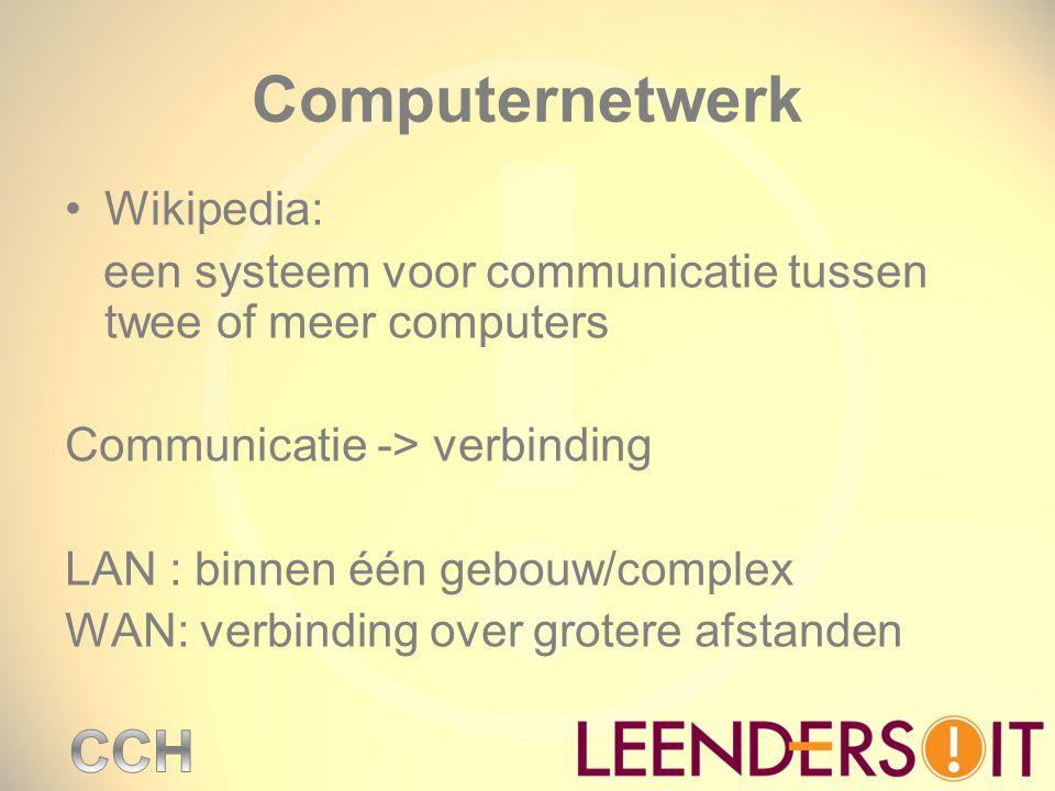Computernetwerk Wikipedia: