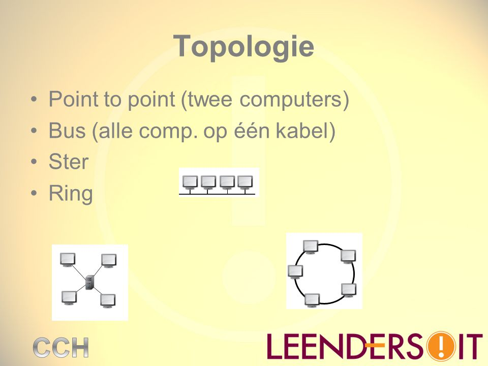 Topologie Point to point (twee computers)