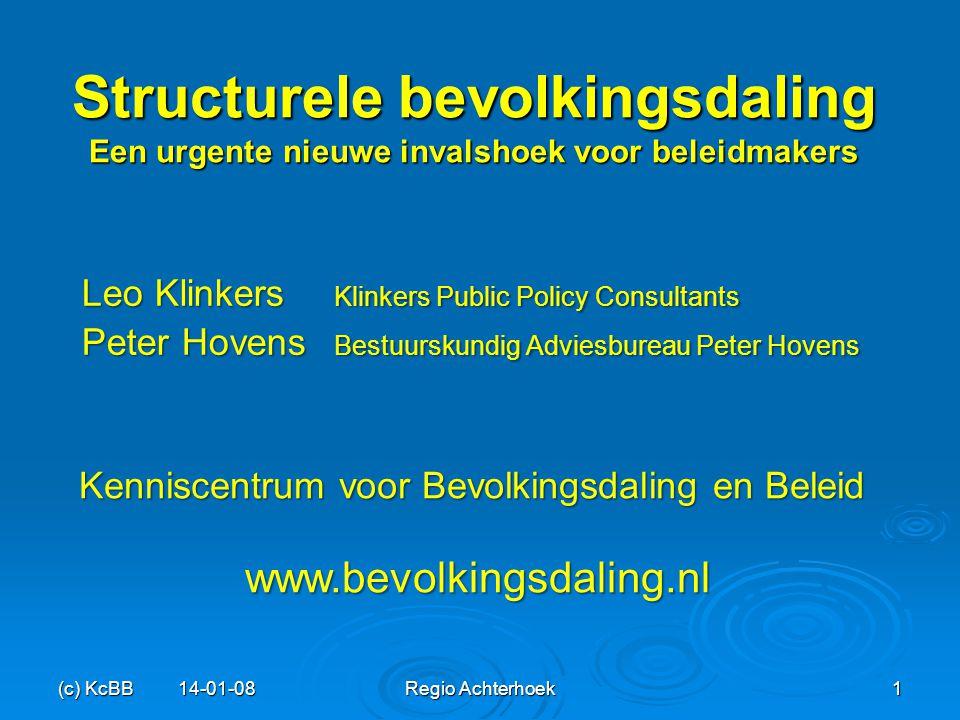 Kenniscentrum voor Bevolkingsdaling en Beleid