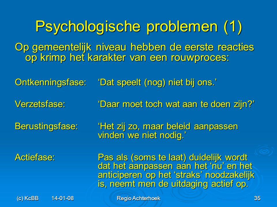 Psychologische problemen (1)