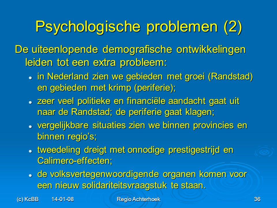 Psychologische problemen (2)