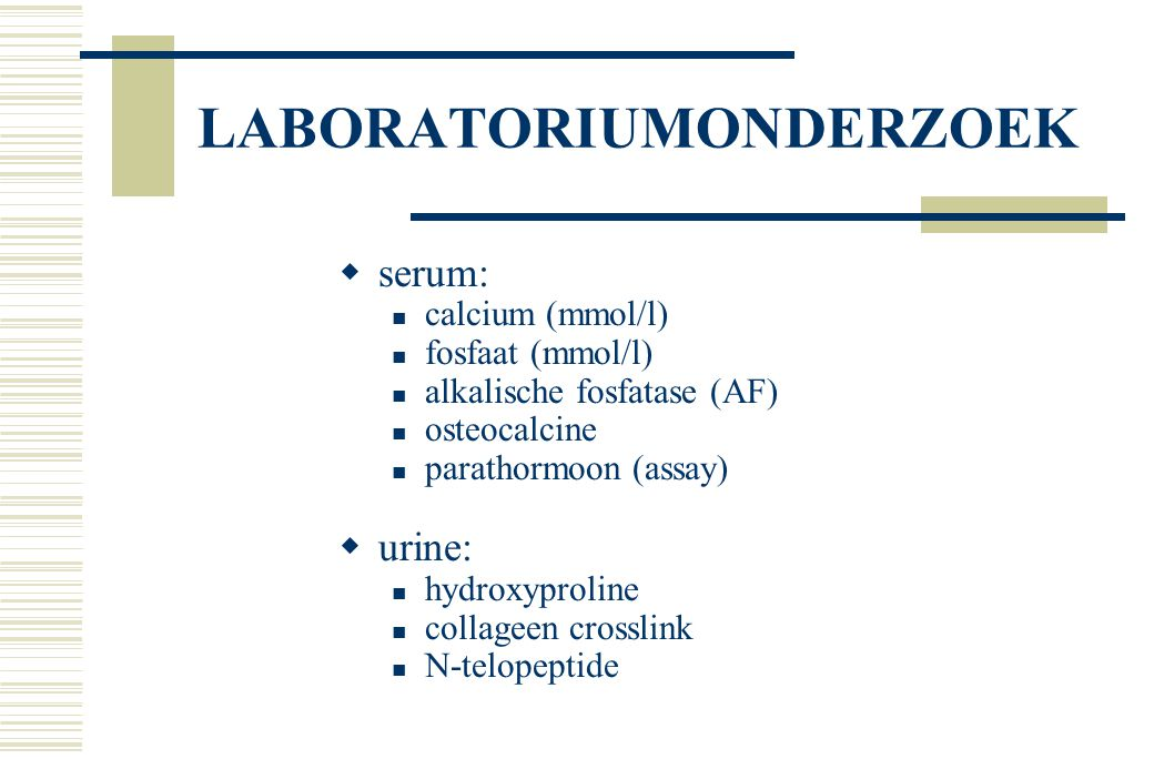 LABORATORIUMONDERZOEK