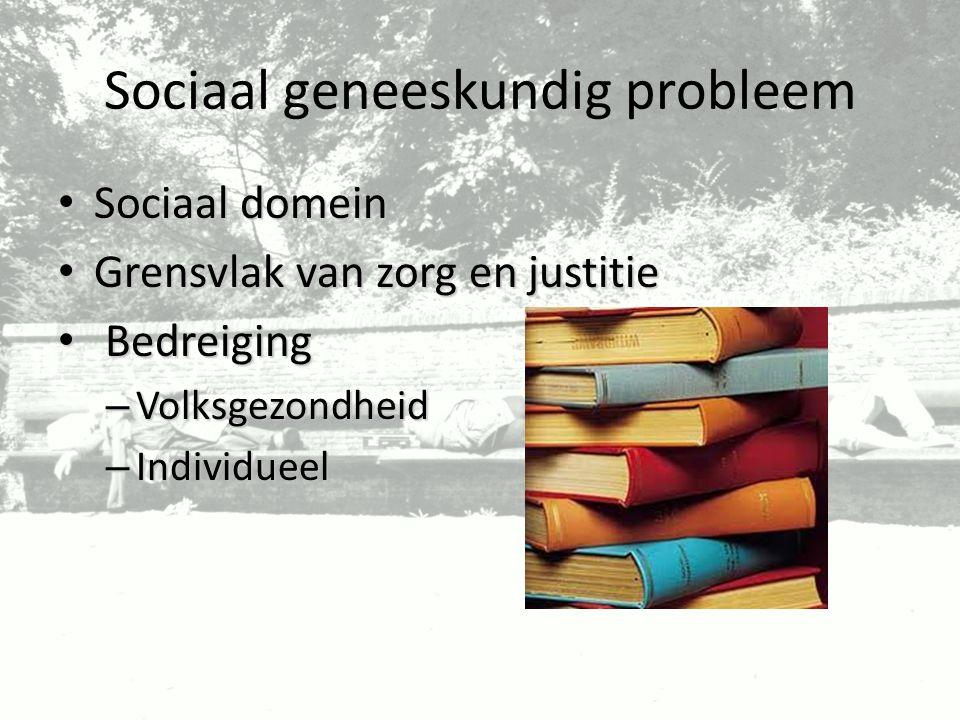 Sociaal geneeskundig probleem