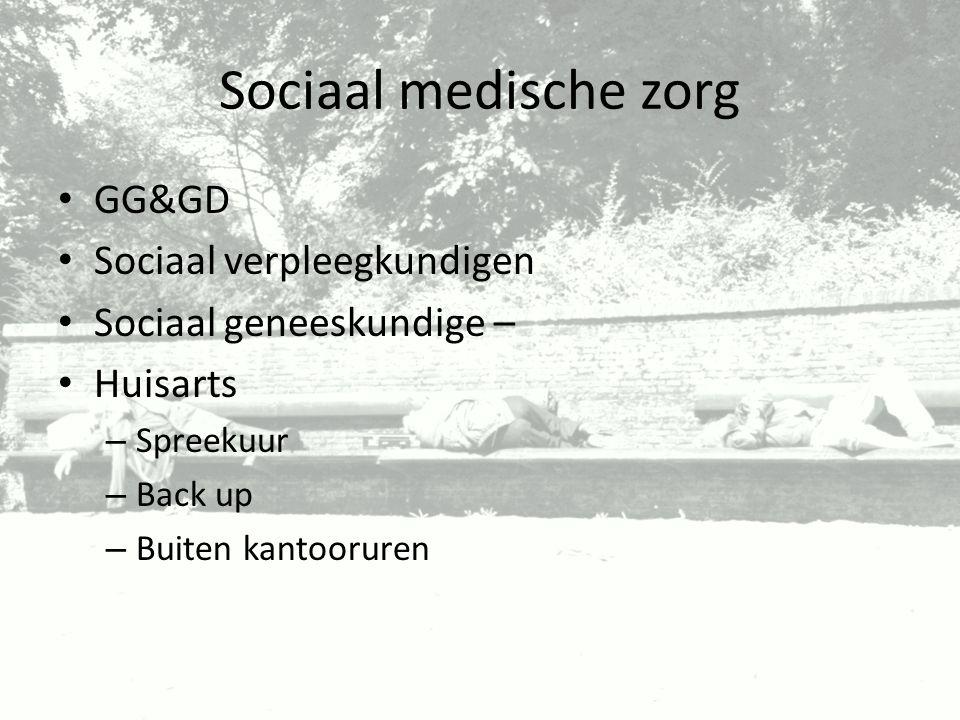 Sociaal medische zorg GG&GD Sociaal verpleegkundigen